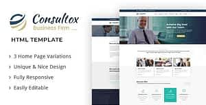 Consultox – Consulting Business HTML Template