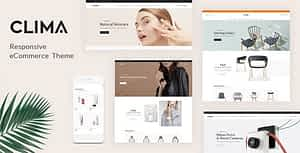 Clima – Responsive WooCommerce WordPress Theme