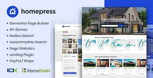 HomePress – Real Estate WordPress Theme