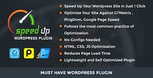 Speed Up WordPress Plugin