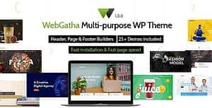 WebGatha – Multi-purpose WordPress Theme