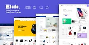 eLab – WooCommerce Marketplace WordPress Theme
