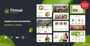 Fitmeal – Healthy Food Delivery and Diet Nutrition WordPress Theme