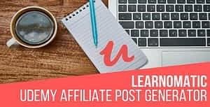 Learnomatic – Udemy Affiliate Plugin for WordPress