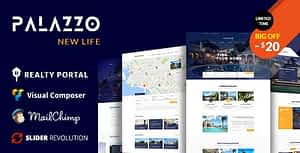 Palazzo – Real Estate WordPress Theme