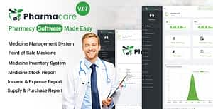 Pharmacare – Pharmacy Software Made Easy