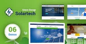 Solar Tech – Renewable Energy HTML Template