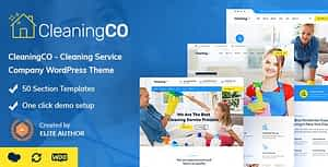CleaninCO – Home Services WordPress Theme