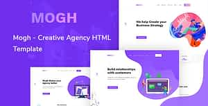 Mogh – Creative Agency HTML Template
