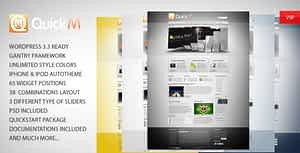 QuickM – Powerful WordPress Template