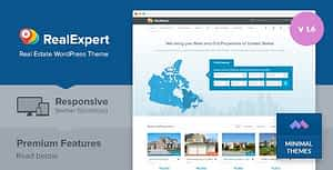 Real Expert – Responsive Real Estate and Property Listing WP Theme