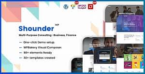 Shounder – Multi-Purpose Consulting Business WordPress Theme