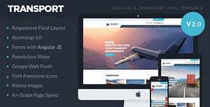 Transport – Logistic, Transportation & Warehouse HTML5 Template