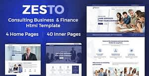 Zesto | Bootstrap4 Multipurpose Corporate HTML Template