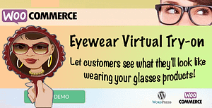 "Eyewear Virtual Try-on ""WooCommerce plugin"""
