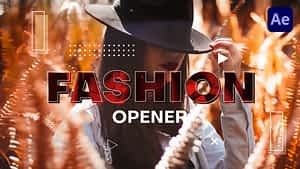 Fashion Opener | After Effects Project
