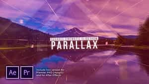 Squares Cinematic Parallax Slideshow After Effects Project