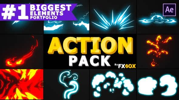 Action Elements Pack | After Effects Free Download