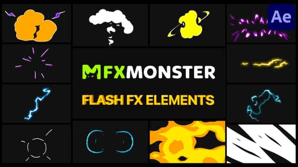 Cartoon Flash FX | After Effects Free Download