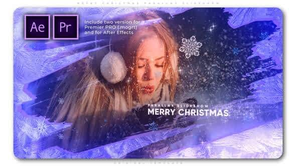 Merry Christmas Parallax Slideshow Free Download