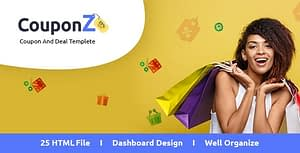 CouponZ – Deals and Coupon HTML Template