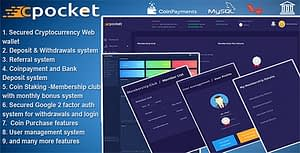 Cpocket – Cryptocurrency Wallet