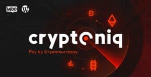 Cryptoniq – Cryptocurrency Payment Plugin for WordPress