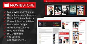 MovieStore – Movies and TV Shows Affiliate Script