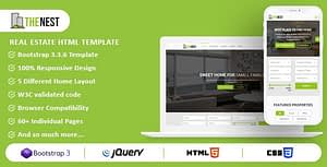 Nest – Real Estate HTML Template