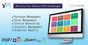 VenManager – Inventory, Account & Sales Management