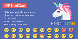EmojiOne for WordPress – WordPress Plugin