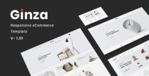 Ginza – Furniture eCommerce HTML Template