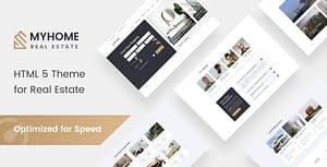 MyHome – Residential Real Estate Agency Website Design