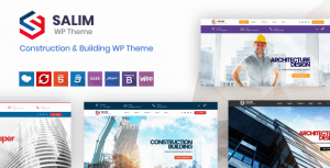 Salim – Construction and Building WordPress Theme