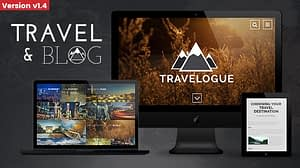 Travelogue – Travel Blog HTML Template