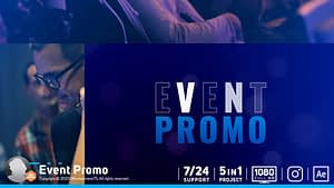 Event Promo After Effects Project