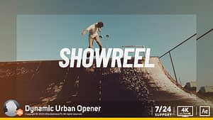 Dynamic Urban Opener After Effects Project