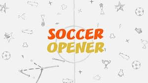Soccer Opener V    After Effects Template After Effects Project