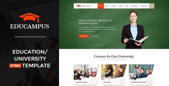 Educampus - Education & University HTML Template Nulled