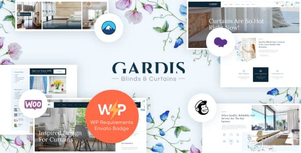Gardis | Blinds and Curtains Studio & Shop WordPress Theme Nulled