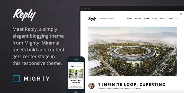 Reply WordPress Theme Nulled