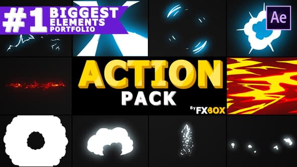 Dynamic Elements Pack | After Effects Free Download