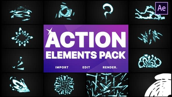 Action Elements | After Effects Free Download
