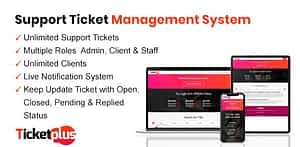 TicketPlus – Support Ticket Management System