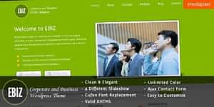 EBIZ – Corporate and Business HTML Template