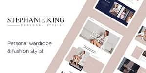 S.King | Personal Stylist and Fashion Blogger WordPress Them…