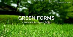 Green Forms – Standalone Form Builder