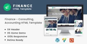 Finance – Consulting, Accounting HTML Template