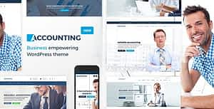 Accounting – Business, Consulting and Finance WordPress theme
