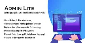 Admin Lite – PHP Admin Panel + User Management
